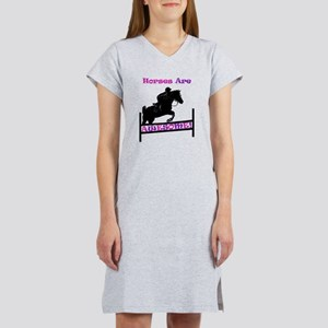 Horses Are Awesome Women's Nightshirt