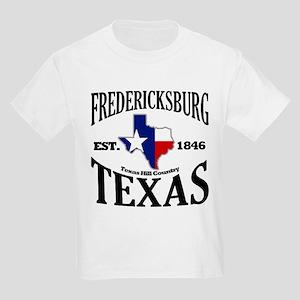 Fredericksburg, Texas Kids Light T-Shirt