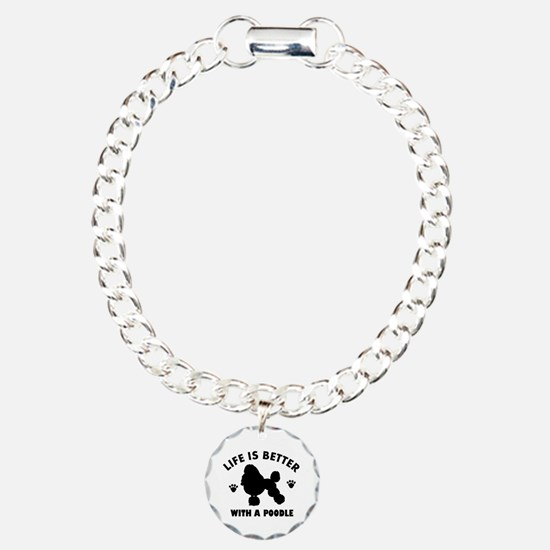 Poodle breed Design Bracelet
