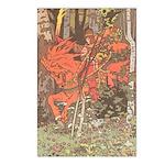 Bilibin's Red Horseman Postcards (Package of 8)