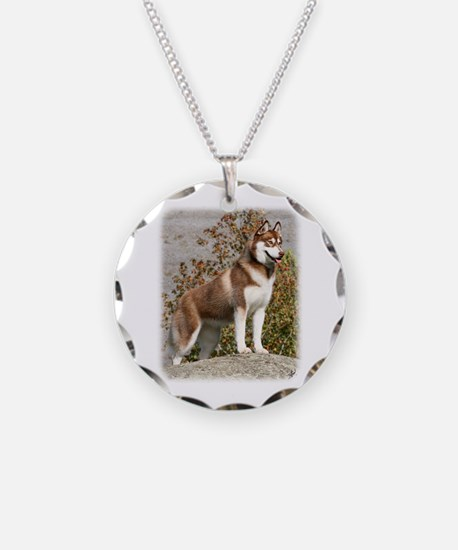 Siberian Husky 9Y773D-103 Necklace