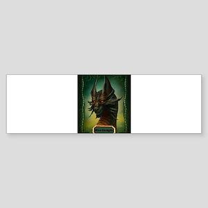 Beware The Dragon Sticker (Bumper)