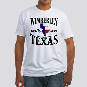 Wimberley, Texas Fitted T-Shirt