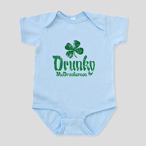 Drunky McD Infant Bodysuit