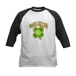 mexirish-faded Kids Baseball Jersey