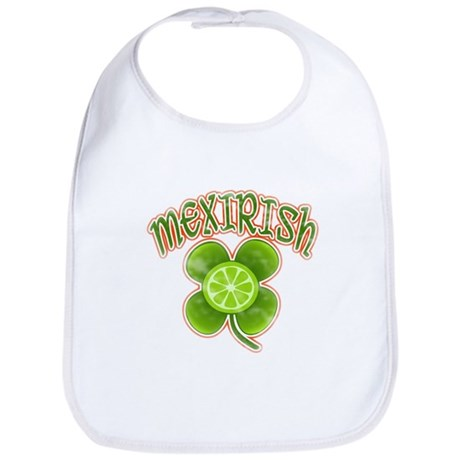 mexirish-faded Bib