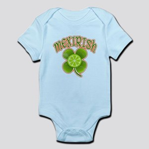 mexirish-faded Infant Bodysuit