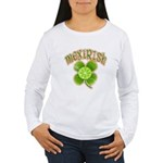 mexirish-faded Women's Long Sleeve T-Shirt
