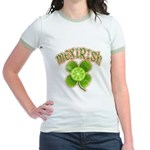 mexirish-faded Jr. Ringer T-Shirt