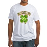 mexirish-faded Fitted T-Shirt