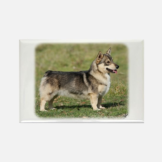Swedish Vallhund 9Y767D-057 Rectangle Magnet (10 p