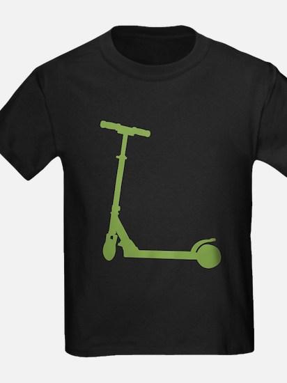 pushscooter_green T-Shirt