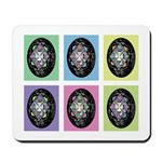 Pop Art Pysanka Mousepad
