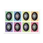 Pop Art Pysanka Mini Poster Print