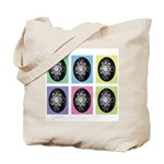 Pop Art Pysanka Tote Bag