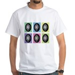 Pop Art Pysanka White T-Shirt