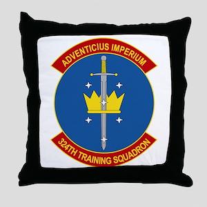 324th Training Squadron Throw Pillow