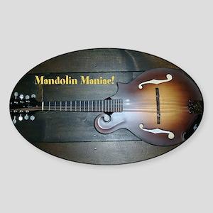 Mandolin Maniac sticker Sticker