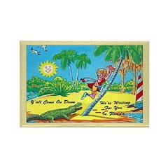Funny Florida Fridge Magnet
