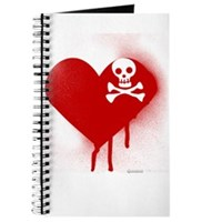 Emo Skull Heart Journal