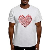 Heart Circles Light T-Shirt