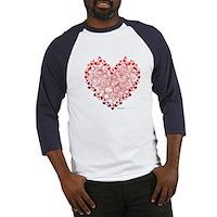 Heart Circles Baseball Jersey