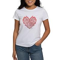 Heart Circles Women's T-Shirt