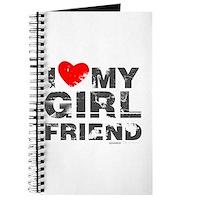 Vintage I Love My Girlfriend Journal