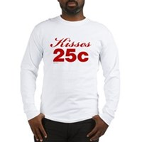Kisses 25c Long Sleeve T-Shirt