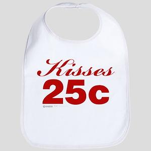 Kisses 25c Bib