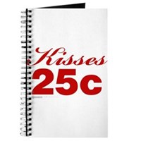 Kisses 25c Journal