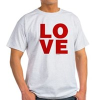 Red Love Light T-Shirt