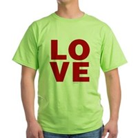 Red Love Green T-Shirt