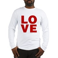 Red Love Long Sleeve T-Shirt