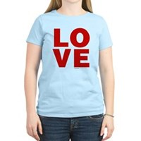 Red Love Women's Light T-Shirt