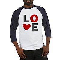 Love Heart Baseball Jersey