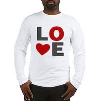 Love Heart Long Sleeve T-Shirt