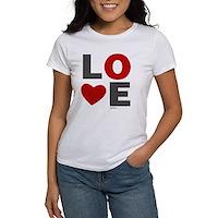 Love Heart Women's T-Shirt