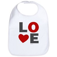 Love Heart Bib