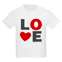 Love Heart Kids Light T-Shirt