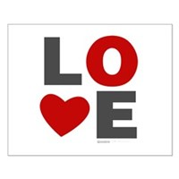 Love Heart Small Poster