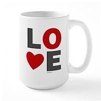 Love Heart Large Mug