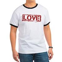 Love Stamp Ringer T