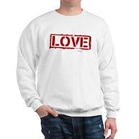 Love Stamp Sweatshirt