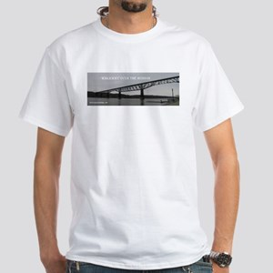 Walkway over the Hudson White T-Shirt