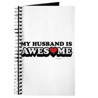 My Husband Is Awesome Journal