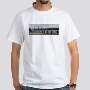 Mid-Hudson Bridge White T-Shirt