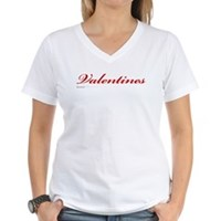 Valentines Women's V-Neck T-Shirt