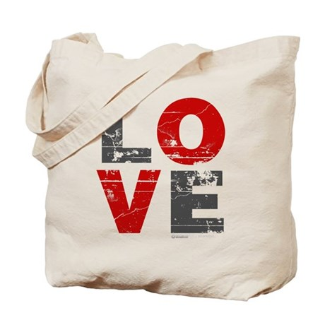 Vintage Love Tote Bag