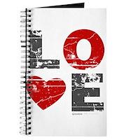 Vintage Love Heart Journal